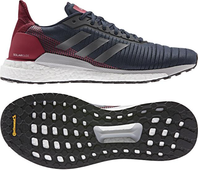 adidas Solar Glide 19 Low Cut Schuhe Herren collegiate navygrey fiveactive maroon